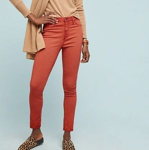 NWT Adriano Goldschmied Ankle Orange Jeans 26